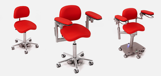 Operating chairs